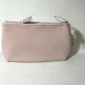Burberry cosmetic case NWOT pink Authentic
